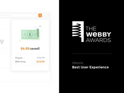 Nominated for 2017 Webby Best User Experience web webby