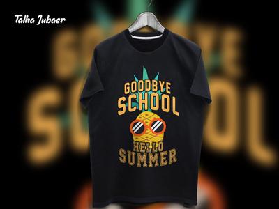 School Summer Tshirt Design 004
