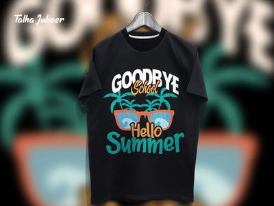 Student Summer Tshirt Design 002