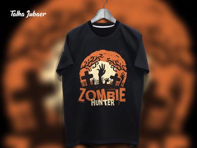 Zombie T Shirt Design