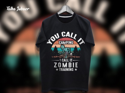 Zombie T Shirt Design 2