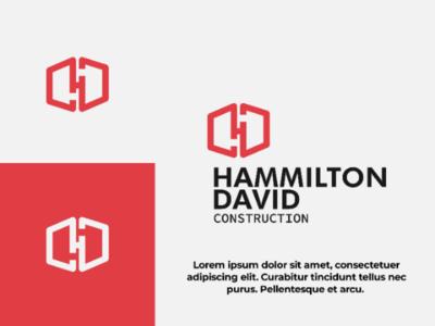 Hexagonal minimalist geometric logo - personal project