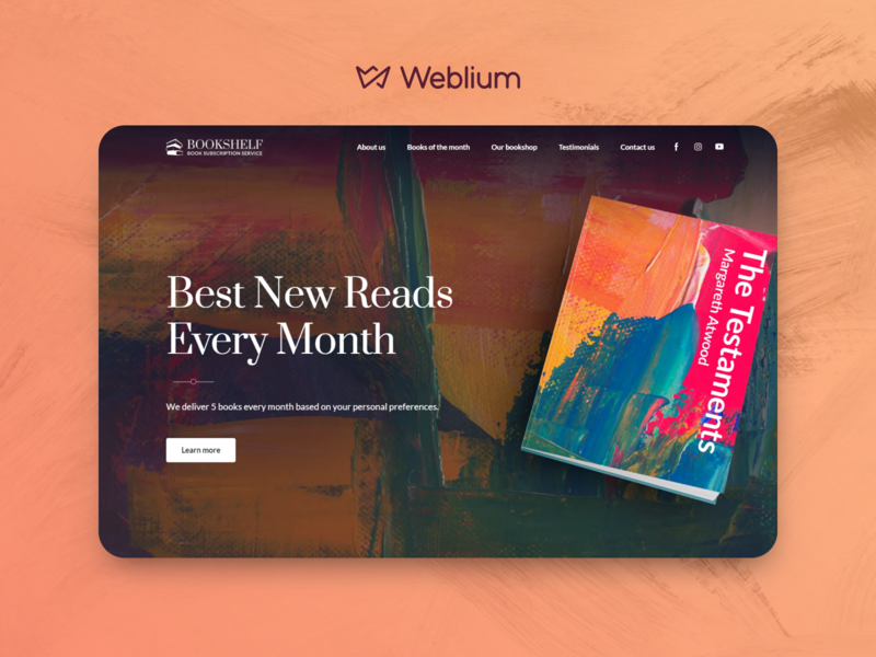 Book subscription service template
