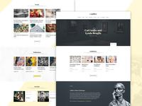 Gallery Website Template