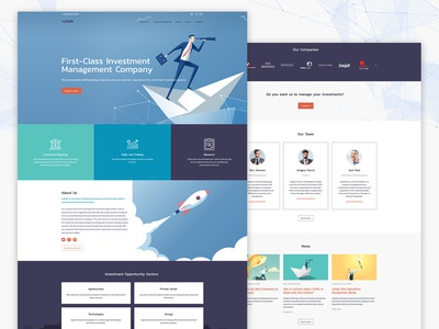 Investment Agency Template