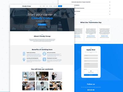 Careers Page idea