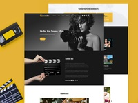 Videographer / Video Production Website Template