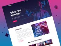 Music/DJ Website Template
