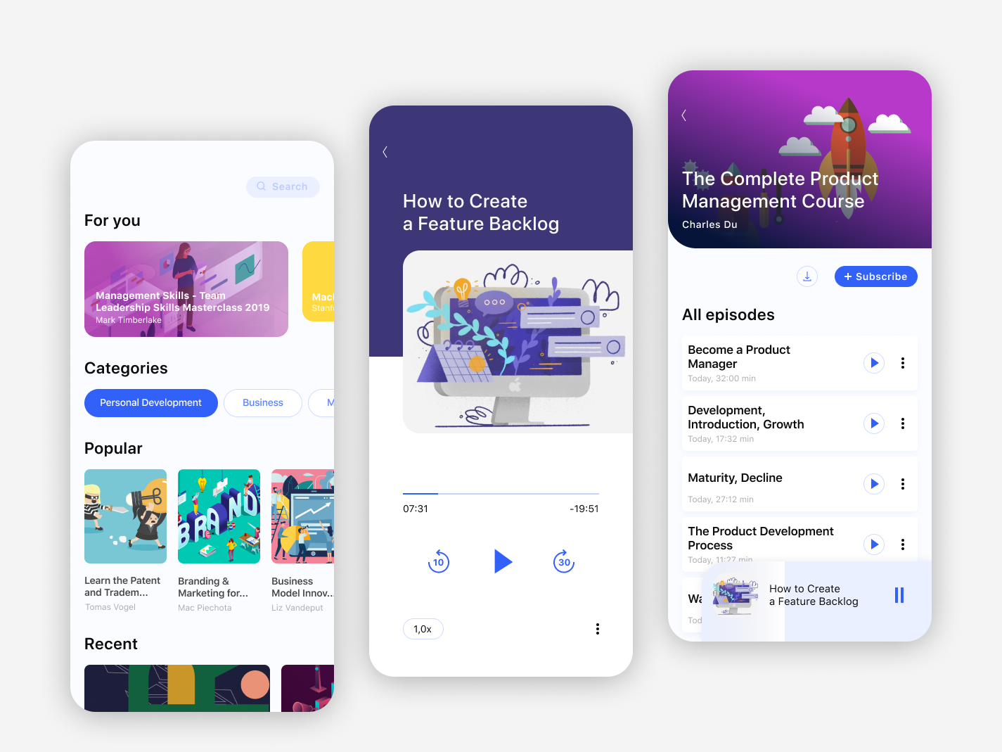 Education app ux app ui design