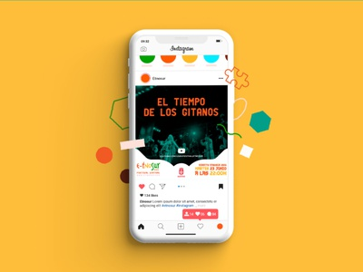 E-tnosur 2020 Music Festival branding flat illustration flat art texture design graphicdesign illustration vector multicultural ethnic festival music