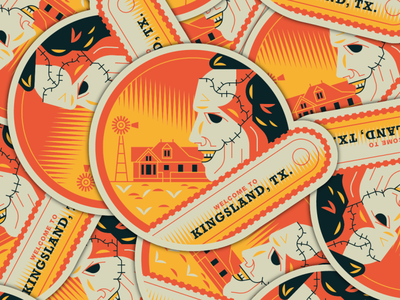 Slasher sticker pack friday the 13th childs play chainsaw texas nightmare on elm street graphic design michael myers leatherface chucky jason freddy krueger horror movies horror stickers badge design slasher halloween design vector illustration
