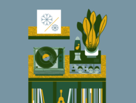 Turntables & Plants