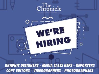 The Chronicle: Hiring Ad