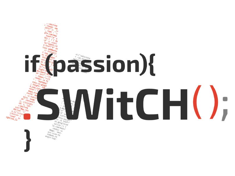 SWitCH logo design branding