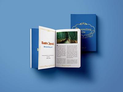 Storytelling Books book indesign editorial design design
