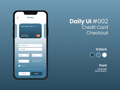 Daily UI #002 checkout dayliui figma design daily ui challenge daily ui 002 dailyui daily ui