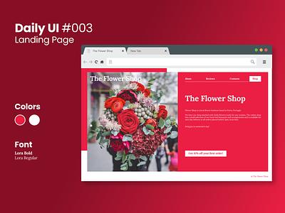 Daily UI #003 daily ui challenge figma design ui landing page daily ui 003 dailyui daily ui