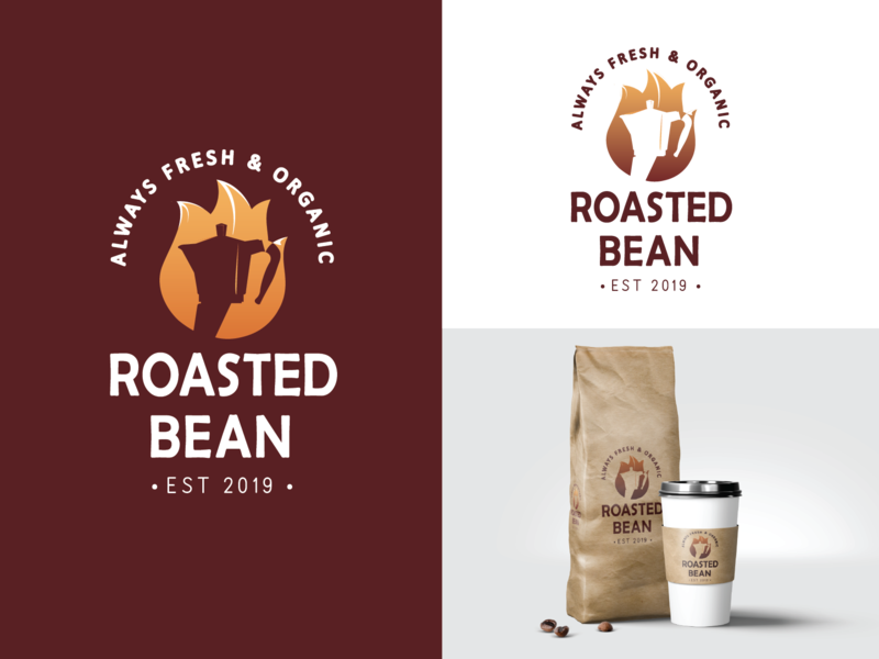 Daily Logo Challenge - Day 6 Coffee House mocca coffee icon design vector logo dailylogodesign dailylogochallenge branding