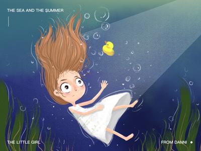 sea sunmmer girl