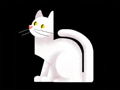 Cat graphic photoshop illustration iris van den akker cat