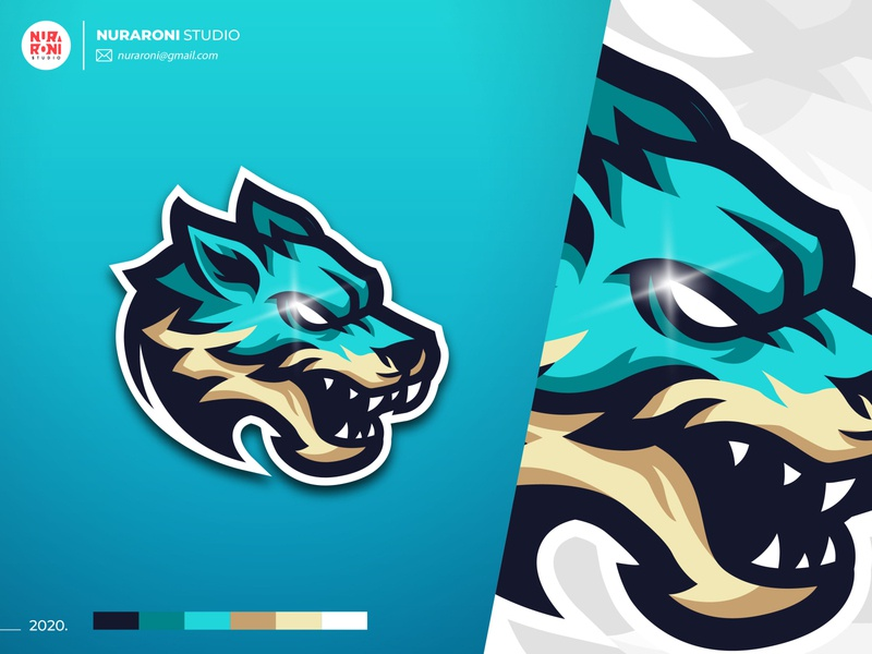 Wolf Mascot Logo mascot character mascot design game online games gaming youtube mascot logo mascot esportlogo esport adobe illustrator digital art cartoon character vector logo illustration design character cartoon artwork