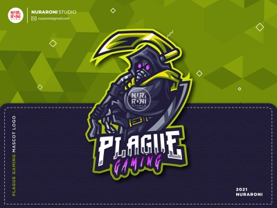 Plague Gaming Mascot Logo youtube banner game logo game online gamers streamers twitch logo twitch mascot design esport team mascotlogo illustration gaming esportlogo mascot esport cartoon character character vector logo cartoon