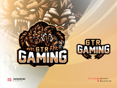 GTR Gaming - Chimera Mascot Logo 3d animation graphic design branding ui illustration design mascot esport character logo vector cartoon snake goat sheppard sheep monster lion chimera