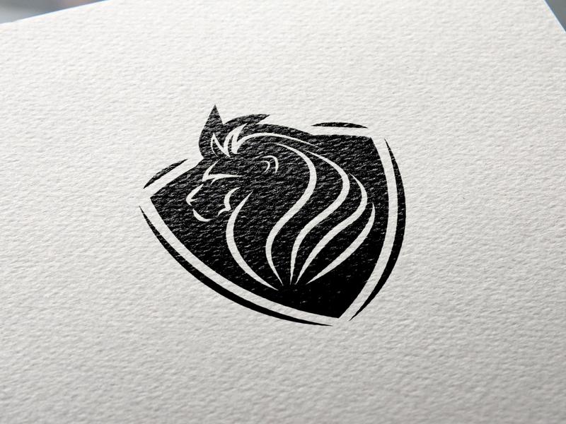 Lion flat vector minimal logo design logo illustrator illustration identity icon design branding