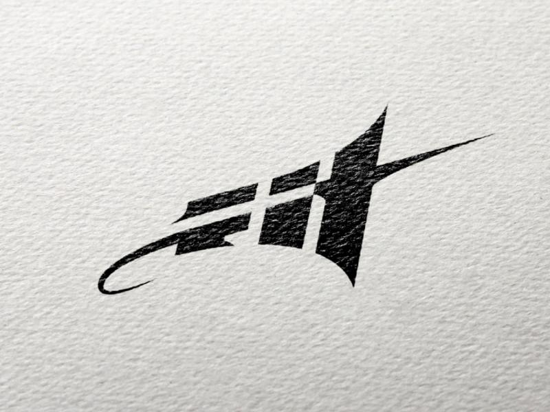 Fit icon logotype fit design illustrator logo