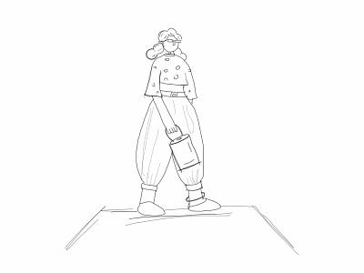 3D Character ui ux app web color octane graphic 3d artist cinema4d blender art render character sketch 3d illustration design