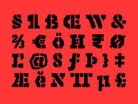Enemy Typeface