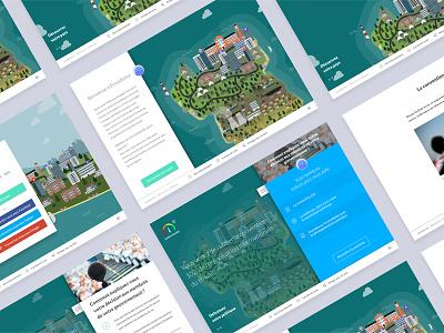 Bienvenue à Providence — Serious Game serious game webdoc illustration webdesign ux ui