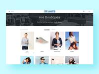 Mall website — Detail 1