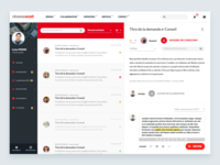 SCET — Social Network / Message Center