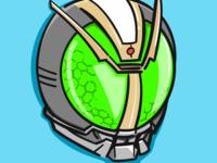 kamen rider helmet