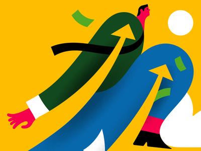 Support for freelancers illustration stefanomarra editorial illustrazioni