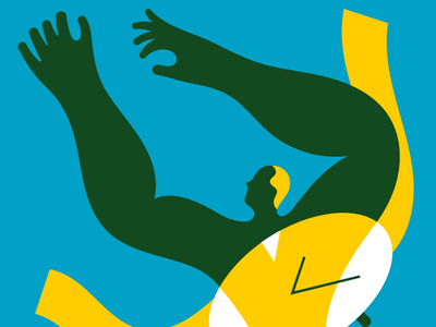 Dealing with time, 2 digital illustration illustrator stefano marra design illo vector illustrations series illustrations