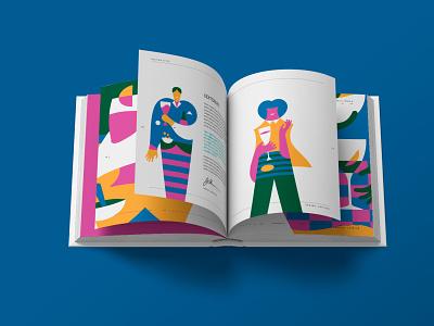 Happy Aperitivo! series style editorial artwork design graphicdesign illustration stefanomarra illustrations
