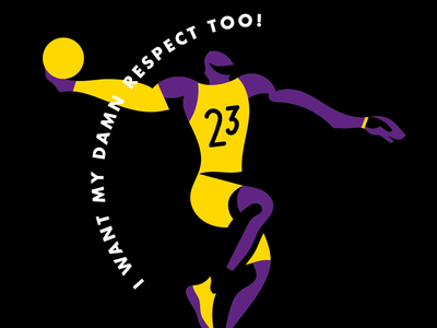 The Lebron James series graphic design illo lebron james illustrated nba