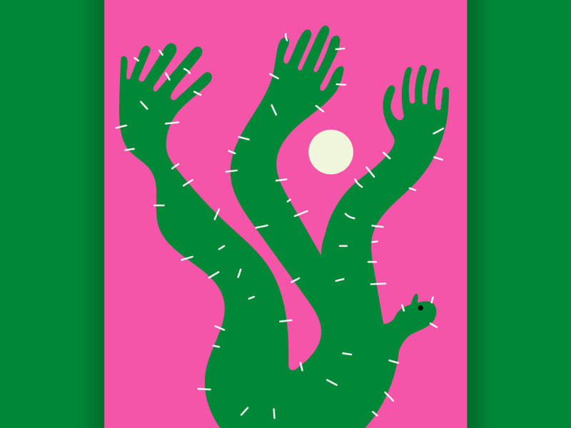 How to become a cactus howto cactus stefanomarra illustrations