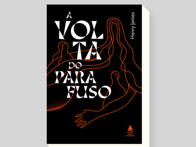 The turn of the screw / a volta do parafuso thiago lettering graphicdesign design bookcover books illustrations illustrazioni