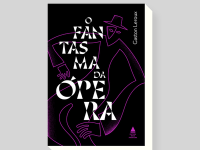 The ghost of the opera stefanomarra horror stories books illo illustration book cover design bookcover gothic