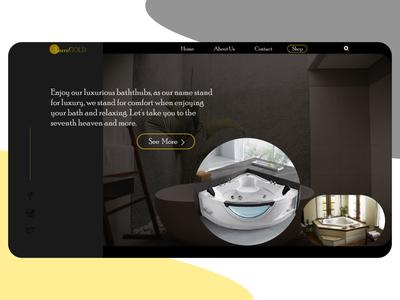 Web App for LarryGold Bathtubs