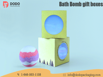 Custom Bath Bomb Boxes Packaging