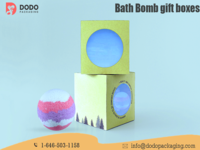 Custom Bath Bomb Boxes Packaging