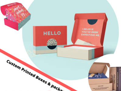 Grab Custom Mailer Boxes | Packaging Designs