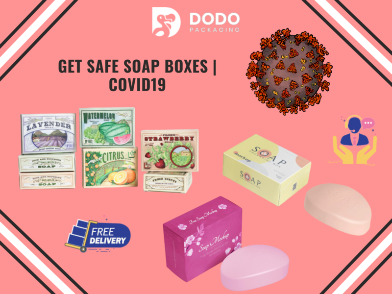 Safe COVID19 Soap Boxes Wholesale | Soap Packaging custom packagingdesigns customboxes marketing advertisement boxes branding custompackaging dodopackaging packaging