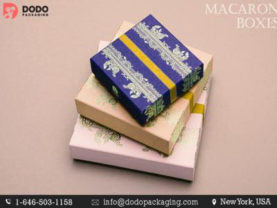 Custom Macaroon Packaging Designs