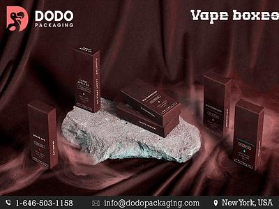 Vape boxes custom cardboard branding marketing packagingdesigns packaging creative vapecartridgeboxtemplate wholesaleboxes boxesdesigns customvapeboxes vapeboxes dodopackaging