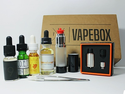 Vape Cartridge Subscription Boxes Packaging